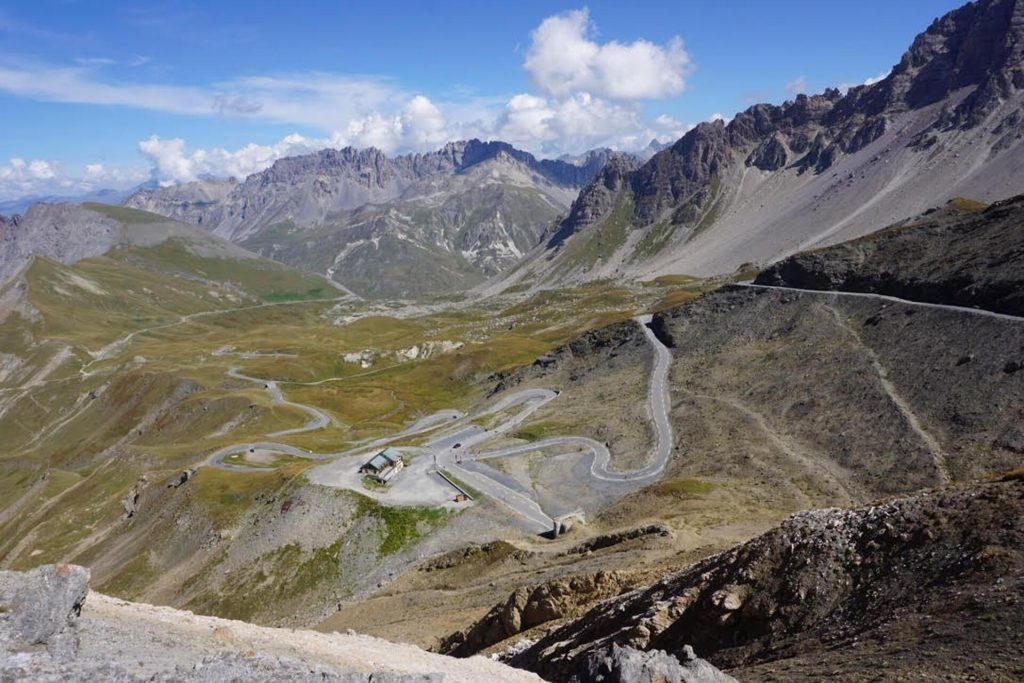 Touring on Col de Galibier